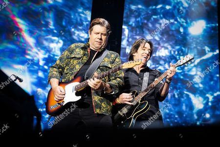 Stock Photo of Gyllene Tider - Mats Persson and Per Gessle