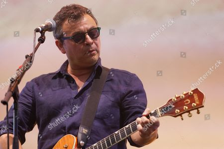 Editorial image of Manic Street Preachers in concert at Cardiff Castle, Wales, UK - 29 Jun 2019