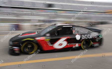 Ryan Newman heads to the track during a NASCAR auto race practice at Daytona International Speedway, in Daytona Beach, Fla