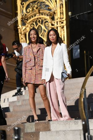 Editorial image of Street Style, Fall Winter 2019, Haute Couture Fashion Week, Paris, France  - 02 Jul 2019