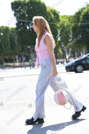 Editorial picture of Street Style, Fall Winter 2019, Haute Couture Fashion Week, Paris, France  - 02 Jul 2019