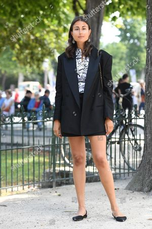 Editorial photo of Street Style, Fall Winter 2019, Haute Couture Fashion Week, Paris, France  - 02 Jul 2019