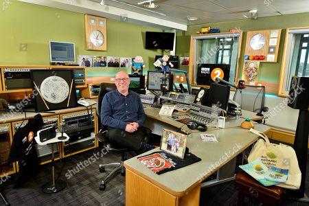 Ken Bruce in studio