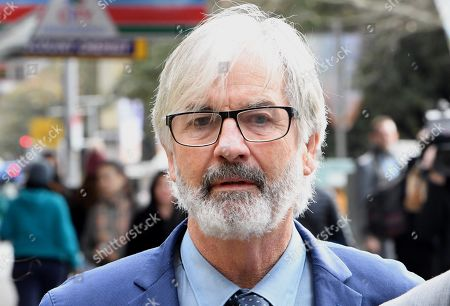 Stock Picture of Australian actor John Jarratt arrives at the Downing Centre Local Court in Sydney, Australia, 05 July 2019. Jarratt is in court for an alleged rape in 1976. The actor has pleaded not guilty.