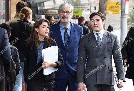 Editorial image of Australian actor John Jarratt at Sydney court, Australia - 05 Jul 2019