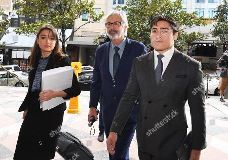 Editorial photo of Australian actor John Jarratt at Sydney court, Australia - 05 Jul 2019