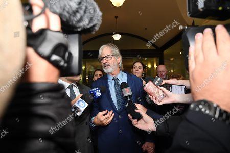 Editorial picture of Australian actor John Jarratt at Sydney court, Australia - 05 Jul 2019