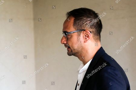 Stock Image of Riza Aziz, stepson of the former Malaysian Prime Minister Najib Razak, arrives at the Kuala Lumpur High Court in Kuala Lumpur, Malaysia, 05 July 2019. Riza Aziz, the Hollywood film producer of 'Wolf of Wall Street', is to face money laundering charges linked to 1Malaysia Development Berhad (1MDB).