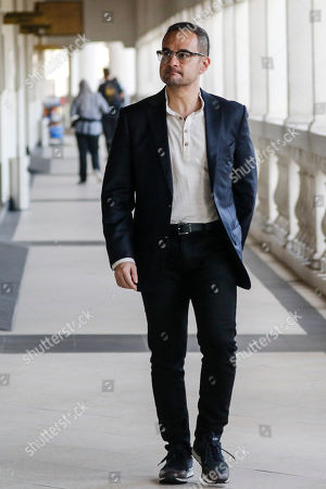 Stock Picture of Riza Aziz, stepson of the former Malaysian Prime Minister Najib Razak, arrives at the Kuala Lumpur High Court in Kuala Lumpur, Malaysia, 05 July 2019. Riza Aziz, the Hollywood film producer of 'Wolf of Wall Street', is to face money laundering charges linked to 1Malaysia Development Berhad (1MDB).