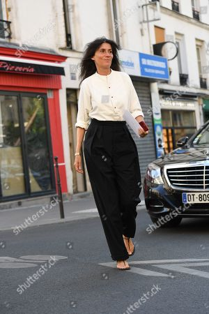 Editorial image of Street Style, Fall Winter 2019, Haute Couture Fashion Week, Paris, France - 03 Jul 2019