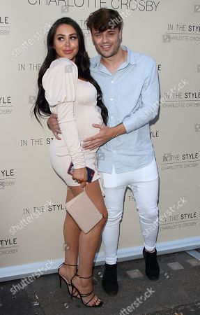 Stock Image of Marnie Simpson and Casey Johnson