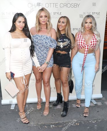 Marnie Simpson, Charlotte Crosby, Sophie Kasaei and Holly Hagan