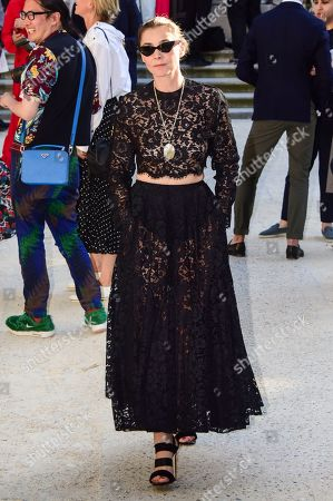Editorial photo of Valentino show, Arrivals, Fall Winter 2019, Haute Couture Fashion Week, Paris, France - 03 Jul 2019