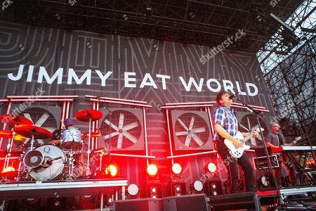 Stock Photo of Jimmy Eat World - Jim Adkins