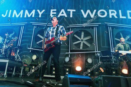 Stock Image of Jimmy Eat World - Jim Adkins