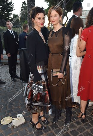 Editorial photo of Fendi show, Arrivals, Palatine Hill, Rome, Italy - 04 Jul 2019