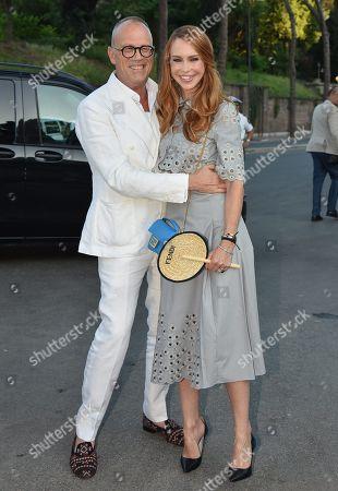 Cesare Cunaccia and Yvonne Scio
