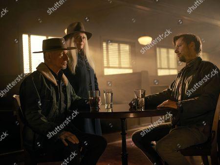 Sir Ben Kingsley as Pastor Byron Brown, Jacki Weaver as Lillian Brown and Jimmi Simpson as James