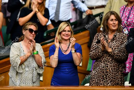 Editorial picture of Wimbledon Tennis Championships, Day 5, The All England Lawn Tennis and Croquet Club, London, UK - 05 Jul 2019