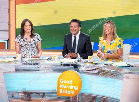 Editorial image of 'Good Morning Britain' TV show, London, UK - 05 Jul 2019