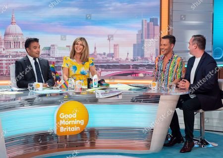 Adil Ray, Kate Garraway, Bobby Cole Norris and Nick Ede
