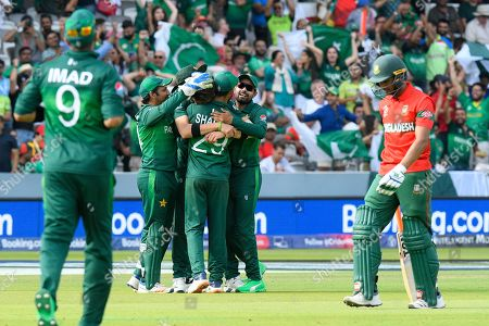 Editorial image of Pakistan v Bangladesh, ICC Cricket World Cup 2019 - 05 Jul 2019