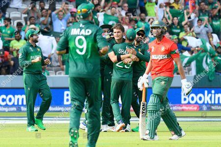 Editorial photo of Pakistan v Bangladesh, ICC Cricket World Cup 2019 - 05 Jul 2019