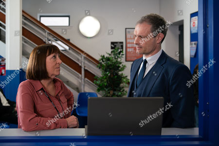 Ep 9821 Monday 15th July 2019 - 1st Ep Nick Tilsley, as played by Ben Price, spots himself in one of Beth's photographs that was taken on the morning of the factory roof sabotage. Nick goes to the police with the photo, which he claims proves he was nowhere near the factory at the time of the roof sabotage but the police remain unconvinced.