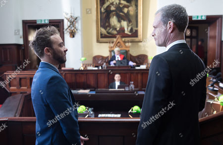 Ep 9819 & 9820 Friday 12th July 2019 David Platt, as played by Jack P Shepherd, tells Shona that Nick Tilsley, as played by Ben Price, plans to tell the truth in court however when the brother's appear in court Nick goes back on his word and blames his brain injury for his actions, accusing David of being the mastermind behind the theft. The Judge reaches a decision.