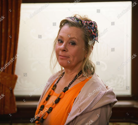 Ep 9829 Wednesday 24th July 2019 - 1st Ep As the customers make cash donations towards the babies' futures Chesney Brown plucks up the courage and tells Gemma Winter he never stopped loving her and wants to try again. But as he leans in for a kiss, they're interrupted by the arrival of Gemma's Mum, Bernie Winter, as played by Jane Hazlegrove, who reveals she's about to be made homeless and needs money. When Gemma offers her the cash from the charity collection Chesney's appalled.