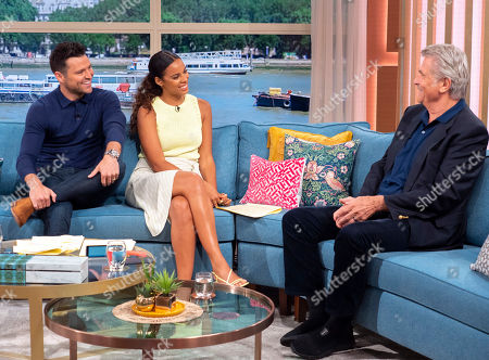 Stock Image of Mark Wright, Rochelle Humes, James Brolin