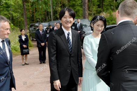 Crown Prince Akishino and Crown Princess Akishino of Japan visit Ainola, the Home of Aino and Jean Sibelius, in Järvenpää