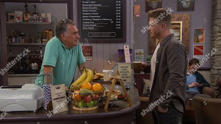 Ep 8532 Thursday 11th July 2019 - 1st Ep David Metcalfe, as played by Matthew Wolfenden, is preoccupied with the result of his blood test. With Bob Hope, as played by Tony Audenshaw.