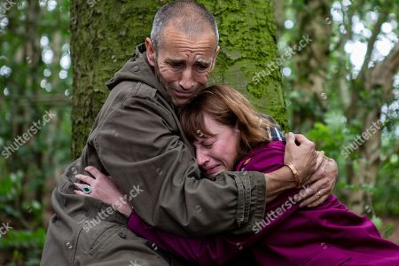 Ep 8535 Monday 15th July 2019  Sam Dingle, as played by James Hooton, offers to accompany Lydia, as played by Karen Blick, to the burial site and agrees to let her leave Emmerdale if she doesn't find visiting the site helpful. Once there, Lydia finally breaks down and submits to her long-buried grief. Where will they go from here? Can Lydia ever forgive herself?