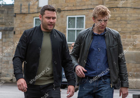 Ep 8537 Tuesday 16th July 2019 - 2nd Ep Will Aaron Dingle, as played by Danny Miller, and Robert Sugden, as played by Ryan Hawley, get to Dawn in time?