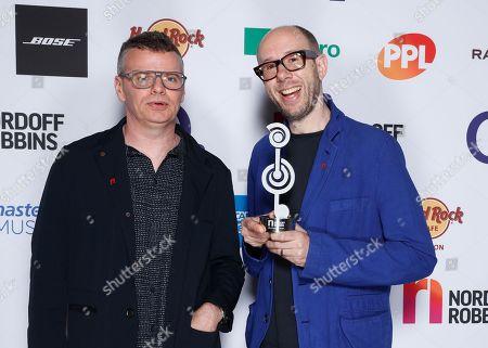 Editorial photo of Nordoff Robbins O2 Silver Clef Awards, Press Room, Grosvenor House, London, UK - 05 Jul 2019