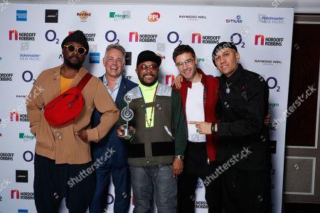 Black Eyed Peas - will i am, Liam Payne, apl de ap, Taboo,