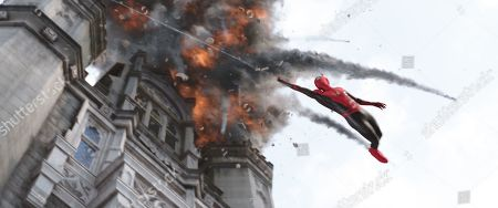 Tom Holland as Peter Parker/Spider-Man
