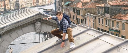 Stock Image of Tom Holland as Peter Parker/Spider-Man