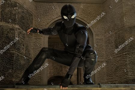 Stock Photo of Tom Holland as Peter Parker/Spider-Man