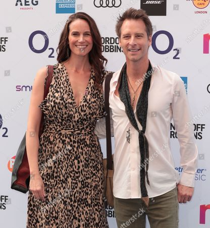 Kristina Hawkes and Chesney Hawkes