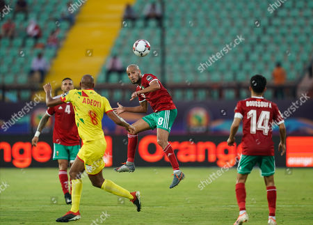 Editorial picture of Marocco v Benin - African Cup of Nations, Cairo, USA - 05 Jul 2019