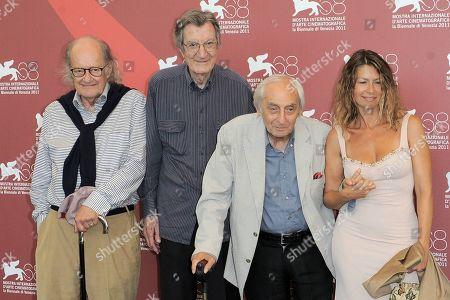 Editorial image of 'Scossa' film photocall, 68th Venice Film Festival, Italy - 01 Sep 2011
