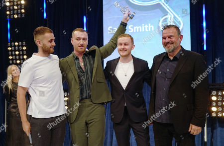 Howard Lawrence, Sam Smith, Guy Lawrence and Guest