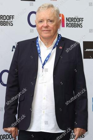 Stock Image of Bernard Sumner at the Nordoff Robbins O2 Silver Clef Awards at the Grosvenor House, Park Lane.