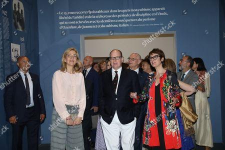 Princess Cristina, Prince Albert II, Montse Aguer
