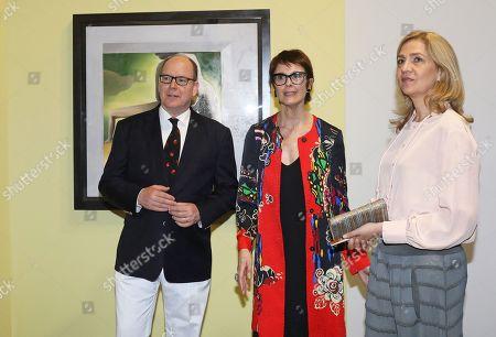 Prince Albert II, Montse Aguer, Princess Cristina