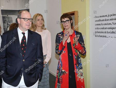 Prince Albert II, Princess Cristina, Montse Aguer