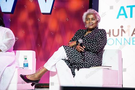 Donna Brazile seen at the 2019 Essence Festival at the Ernest N. Morial Convention Center, in New Orleans