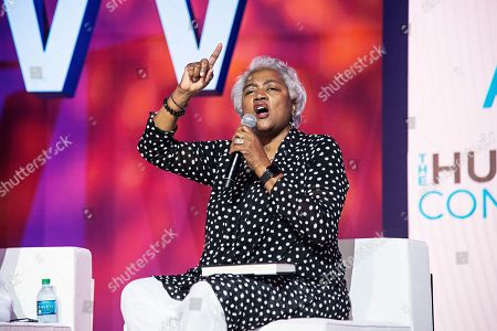 Stock Picture of Donna Brazile seen at the 2019 Essence Festival at the Ernest N. Morial Convention Center, in New Orleans